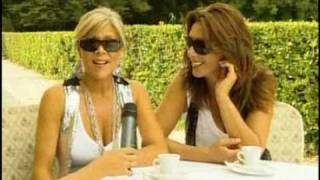 Samantha Fox & Sabrina Salerno duet - Interview italian tv view on youtube.com tube online.
