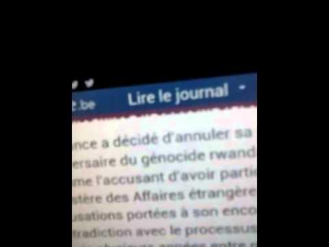 Paul Kagame accuse la France sur le génocide