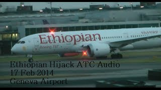 Conversation between co-pilot of the hijacked Ethiopian Airlines plane and Swiss air traffic control