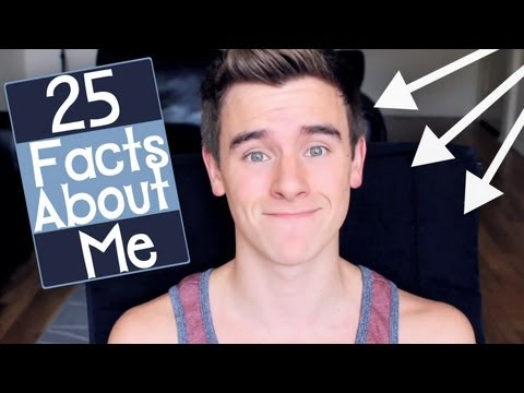 25 Facts About Me | Connor Franta