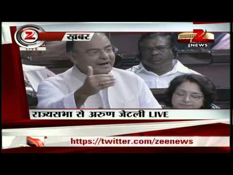 Zee News: Opposition party leader Arun Jaitley slams PM