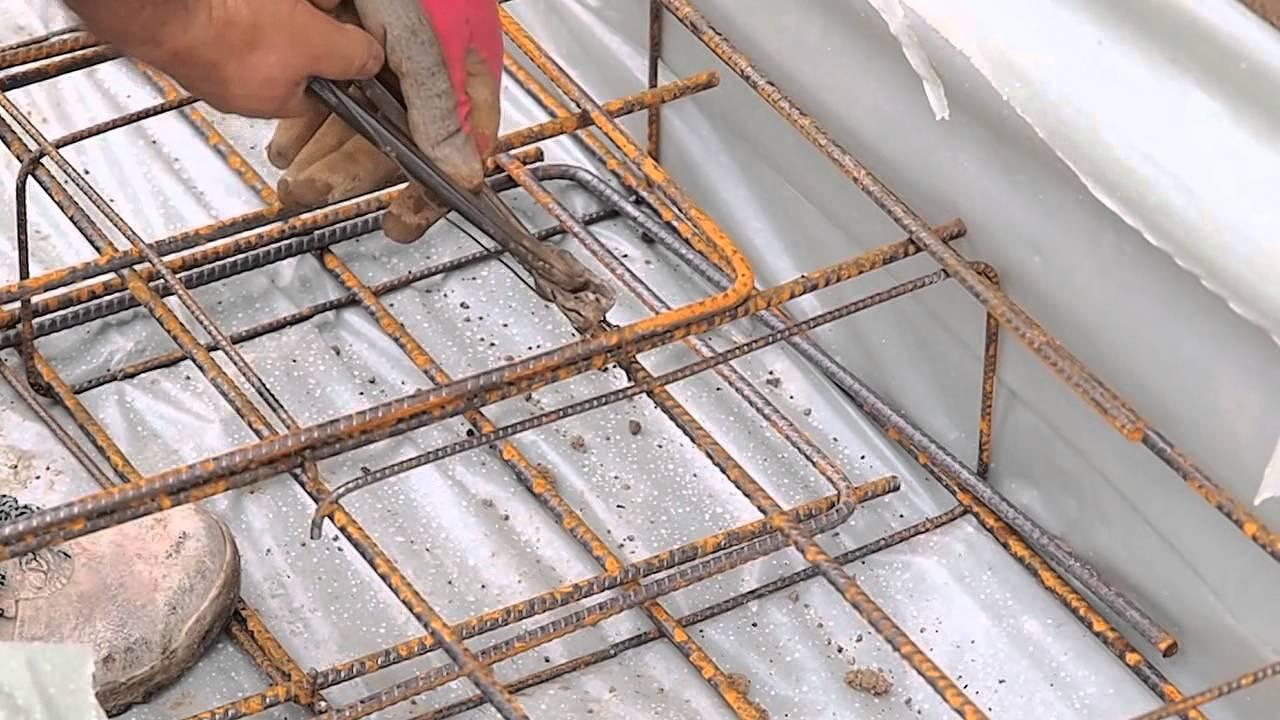 Armatures fondations de maison b ton arm standarm for Maison en beton banche