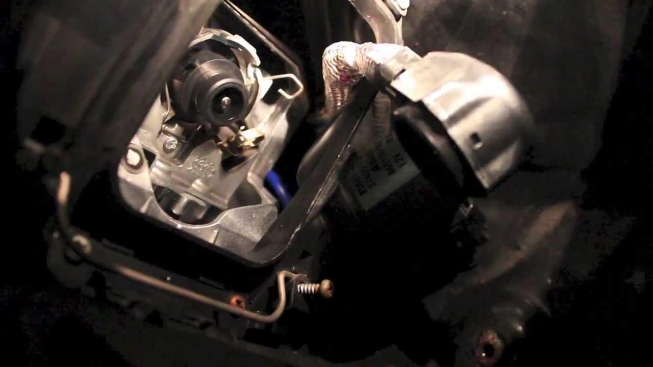 Lexus D4S Headlight Bulb Replacement IS250/350 - YouTube
