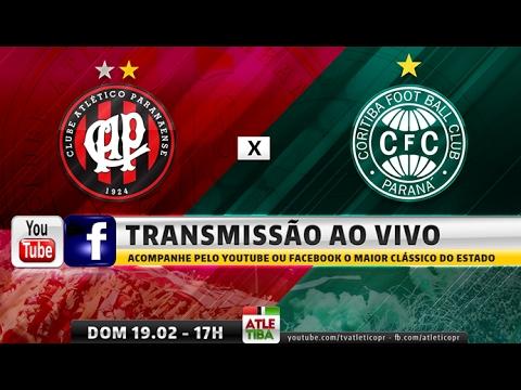 ATLETIBA - Atlético x Coritiba - Campeonato Paranaense