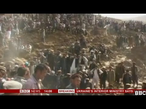 Afghan Landslide Site Declared Mass Grave By Authorities