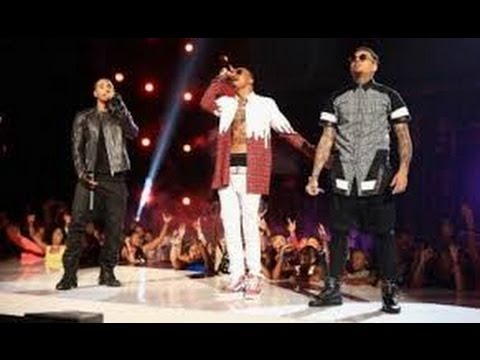 2014 BET AWARDS: August Alsina Trey Songz & Chris Brown Performs & No Beef!