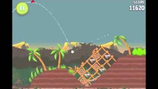 Angry Birds Rio Level 25 (4-10) Jungle Escape 3 Star