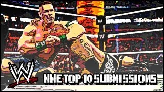 TOP 10 2012 BEST SUBMISSIONS IN WWE