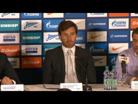 Andre Villas-Boas bei Zenit St. Petersburg:
