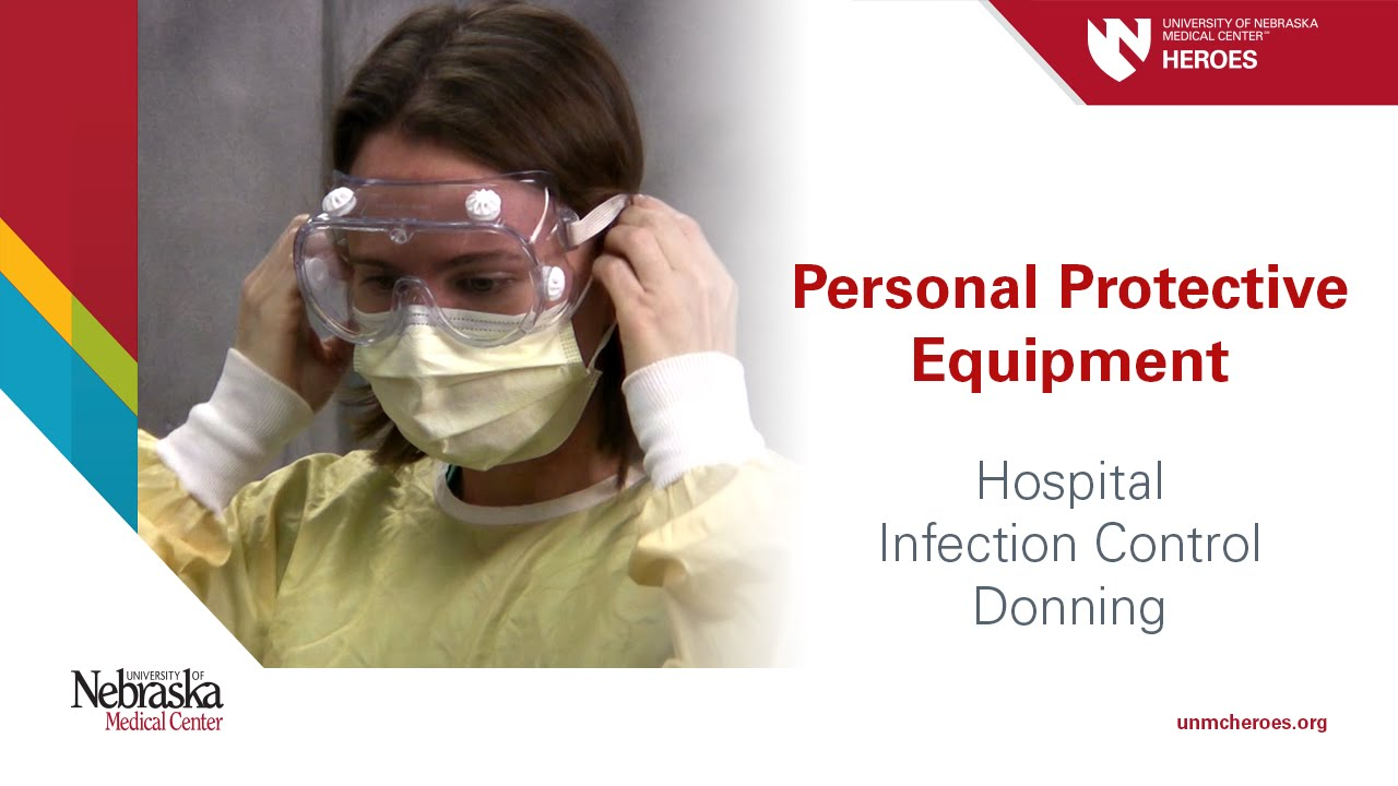 Hospital Ppe Standard Precautions Donning Youtube
