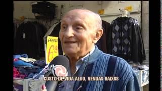 Roupas de frio s�o vendidas a pre�os populares na capital