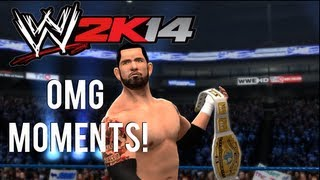 WWE 2K14 OMG Moments (Spectacular Moments) Ft. Wade