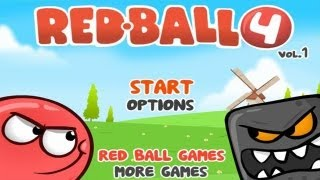 Red Ball 4 - Gameplay - HD