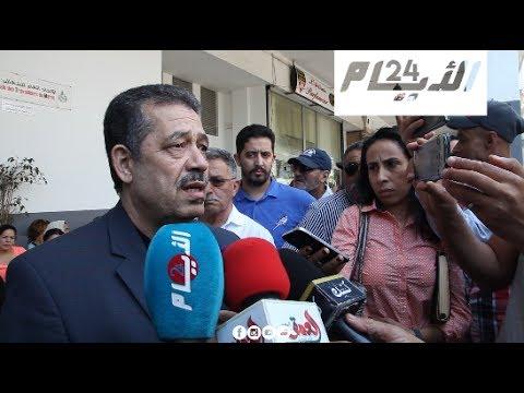 شباط بعد طرده من مقر الاتحاد العام للشغالين
