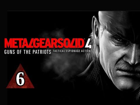 Metal Gear Solid 4 Walkthrough - Part 6 Frog Battle Let's Play MGS4 Gameplay Commentary