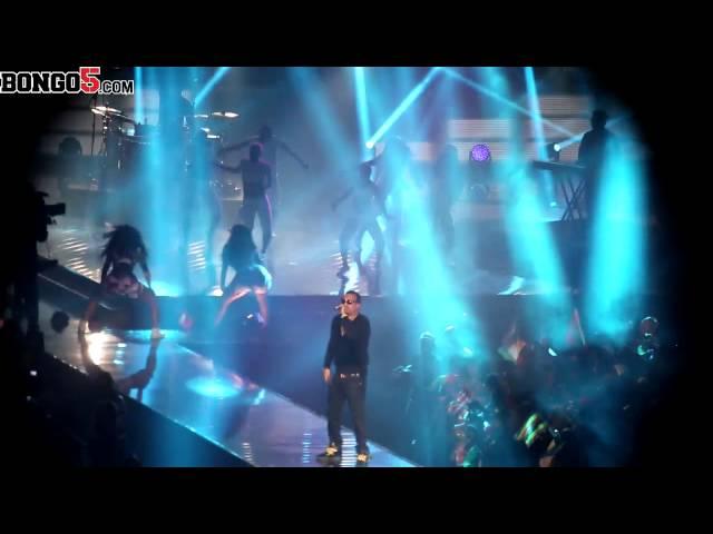 French Montana performing at the MTV MAMA, Durban, SA