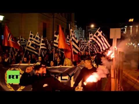 Greece: Golden Dawn flex their muscles in the run up to elections