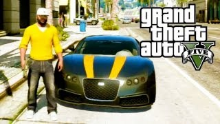 "GTA 5 Secret Cars ""Adder"" (Bugatti Veyron) (GTA V)"