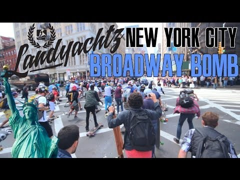 Landyachtz Does NYC w/ Billy Bones