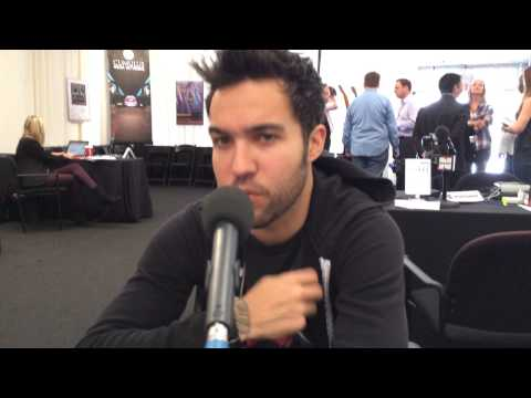 Power 96 Miami Live at the AMAs: Pete Wentz from Fall Out Boy