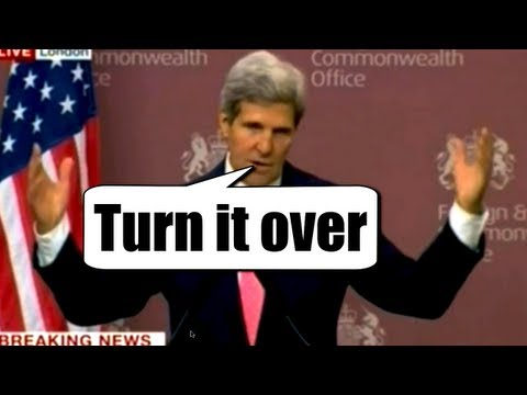Syria & Russia take Kerry's Chemical Weapons Proposal but U.S. says it was