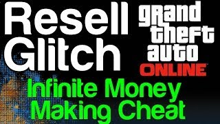 GTA 5 Online Motorcycle LSC Resell Glitch Infinite Money