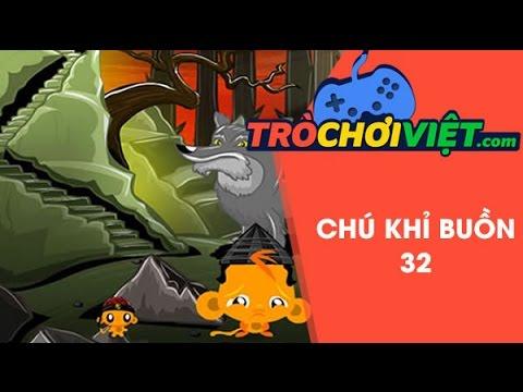 Game chú khỉ buồn 32 - Video hướng dẫn cách chơi game