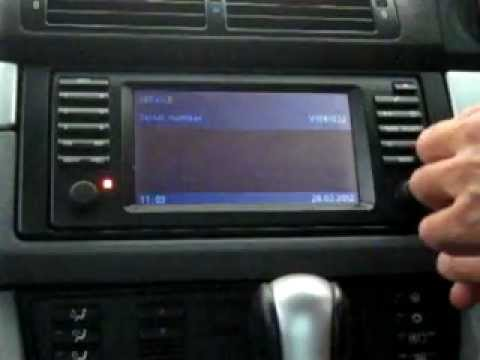 Bmw E39 Radio Service Mode Youtube