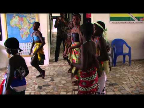 Welcome Entertainment 3 of 3 at Akoma Academy Ghana Tour Oct 2013