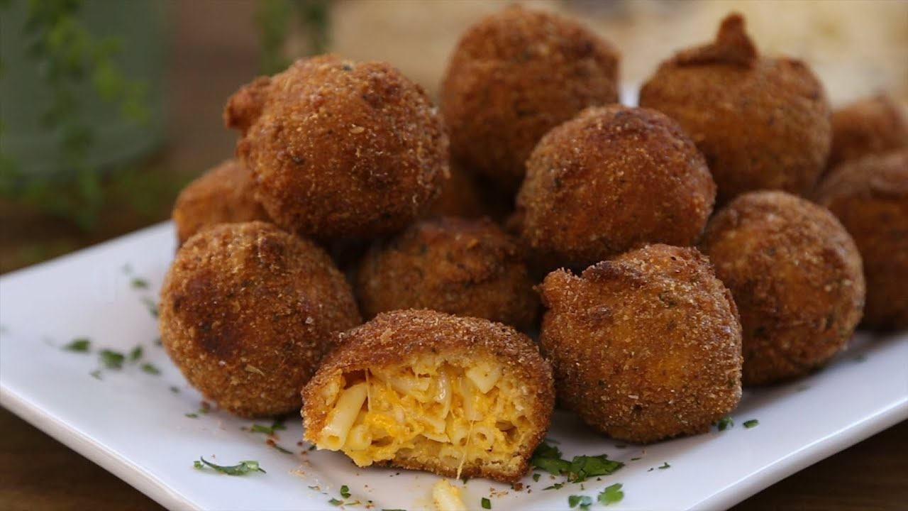 Pasta Recipes - How to Make Fried Mac and Cheese Balls - YouTube