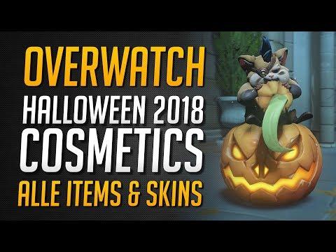 Halloween Event 2018 Cosmetics | Alle Items & Skins ★ Overwatch Deutsch