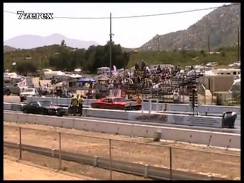 Smokey and the Bandit Trans Am Drag Racing Barona Drag Strip; updated