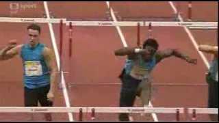 2014 Praha Men 60m Hurdles Dayron Robles In 7.51