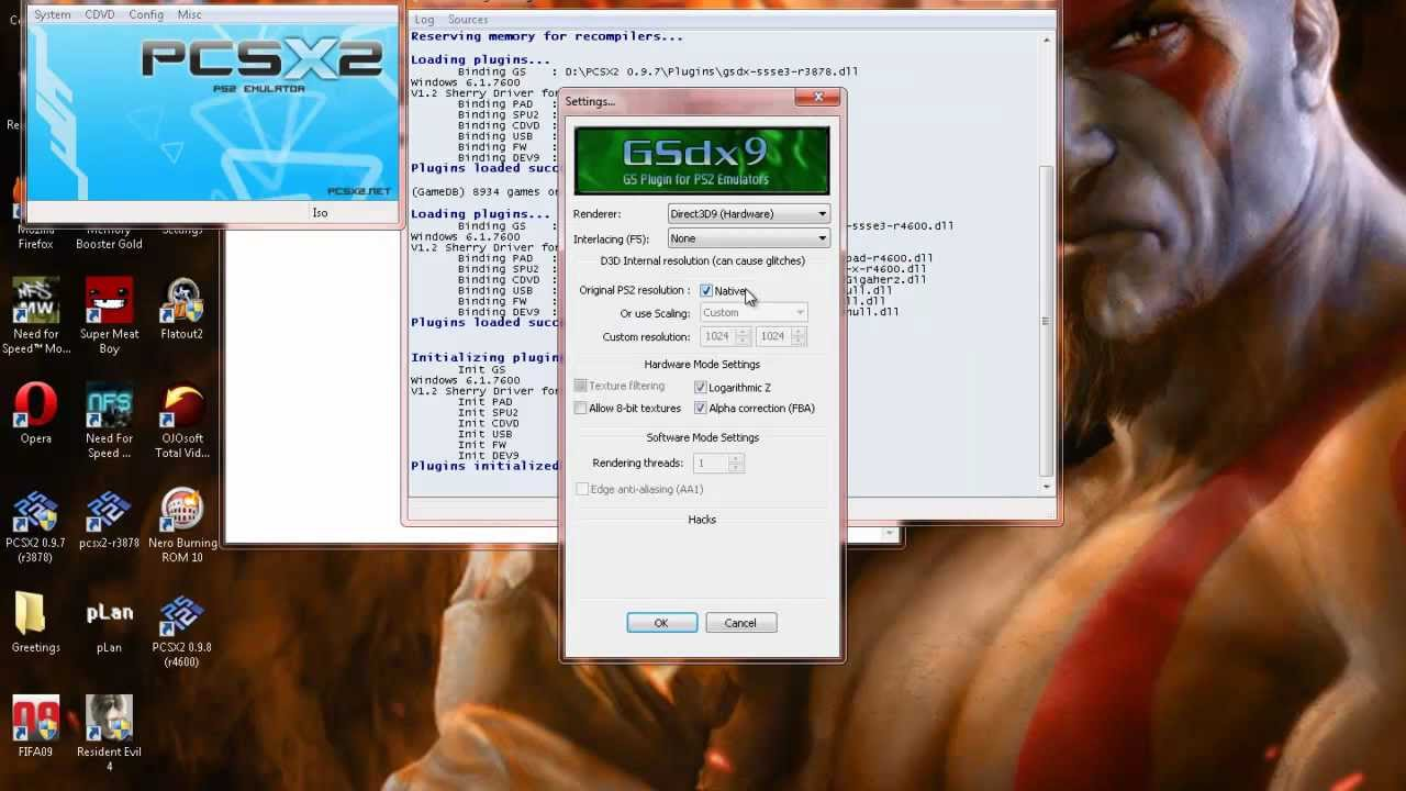 Best Configuration For Pcsx2 0.9.8