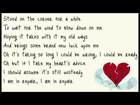John Mayer - In Repair (lyrics on screen)