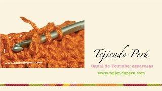 Crochet: Cómo Tejer Un Punto En Relieve Tomado Por Delante