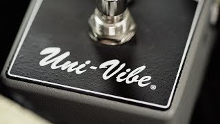 Watch the Trade Secrets Video, MXR M68 Uni-Vibe Pedal Video