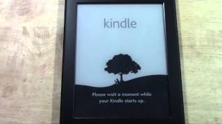 Kindle Paperwhite How To Reset Back To Factory Settings