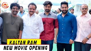 Kalyan Ram New movie Opening- Photo Play -Jr NTR, Puri Jagganadh, Hari Krishna