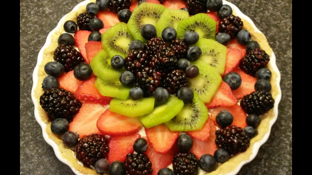 easy fruit dip tart fruit
