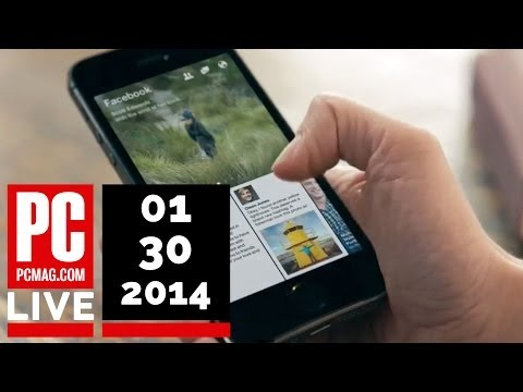 PCMag Live 01/30/14: Lenovo Buys Motorola & Facebook Launches Paper