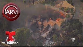 California arde en llamas y el fuego es incontrolable   Al Rojo Vivo   Telemundo