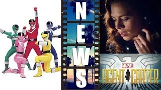 Power Rangers New Movie From Lionsgate, Agent Carter TV