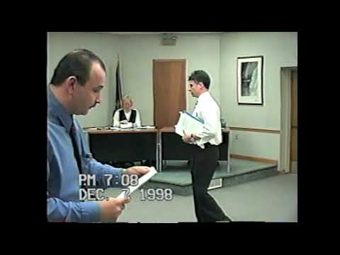 Rouses Point Village Board Meeting 12-7-98