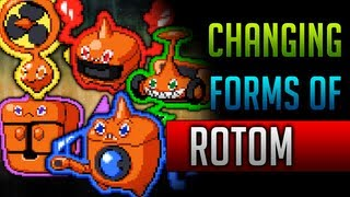 How & Where To Catch/get Rotom's Forms In Pokemon Black