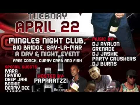 Iyara – Krish Genius Bday Tuesday April, 22 @ Mingles, Big Bridge, Sav | Reggae, Dancehall, Bashment