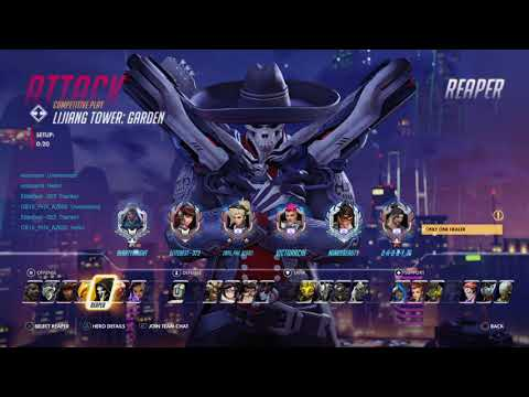 Overwatch:Multi Hero Gameplay (Ranked) 2750+ SR No Commentary