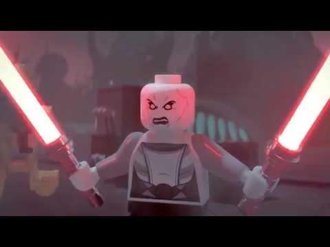 Lego Star Wars - Anakin vs Asajj