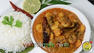 Prawns with Onion Tomato and Coconut ..
