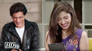 IANS - Shah Rukh's This Message To Mahira Khan - A Must Watch